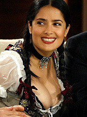Salma Hayek nipples want to be freed