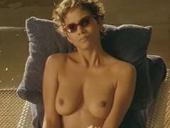 Halle Berry sexy lingerie and topless
