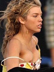 Celebrity Annalynne Mccord lesbian kiss