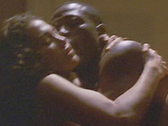 Jennifer Lopez interracial and topless sex scene