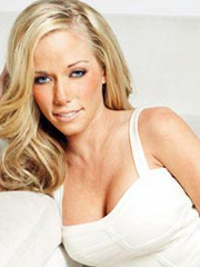 Kendra Wilkinson posing for all of us