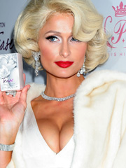 Paris Hilton looking like marilyn monroe