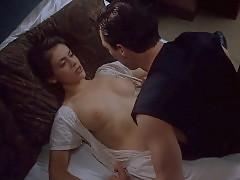 Alyssa Milano Nude Boobs And Sex Scene In Embrace of the Vam...