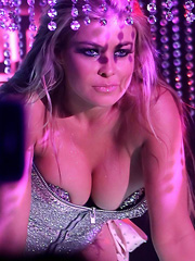 Carmen Electra sexy at pussycat dolls opening