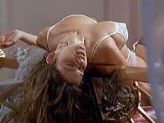 Debora Caprioglio nude sex from behind