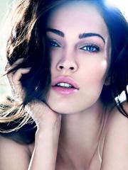 Megan Fox beauty perfection for armani
