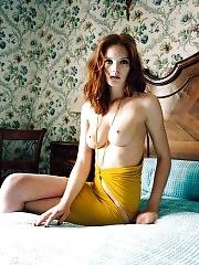 Alexina Graham Nude – Rare Redhead Victoria's Secret Ang...