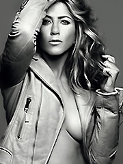 Jennifer Aniston big boobs in magazine