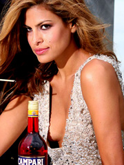 Eva Mendes gets really sexy for campari