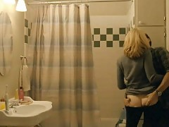 Elizabeth Banks Nude Butt & Sex In The Bathroom From 'The ...
