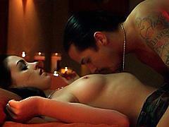 Anne Hathaway topless in hot sex scene