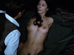 Barbara Goenaga nude tits and bush in sex scene