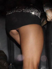 Alessandra Ambrosio upskirt and looks hot