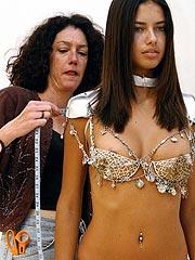 Adriana Lima nice nipple slip and huge boobs