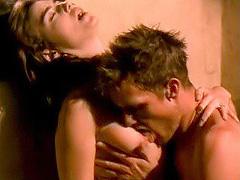Caron Bernstein big boobs in hot sex act