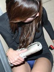 Eiza Gonzalez flashes some panty upskirt