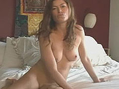 Carre Otis topless and bush in movie scenes