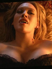 Hilary Duff is one really sexy vampire