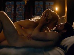 Emilia Clarke Nude Sex Scene From 'Game of Thrones' Seri...