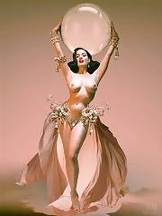 Burlesque Goddess Dita Von Teese — Topless & Sexy Pics U N...