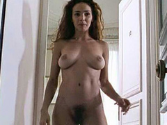 Claire Keim lesbian scene in a bathtub