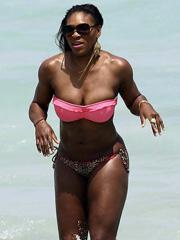 Serena Williams scary bikini pictures