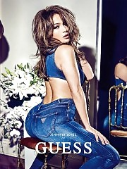 Latina Jennifer Lopez Showed Sexy Big Butt For Guess Photo S...