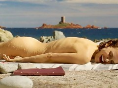 Naked Natalie Portman Ass Scene from 'Planetarium'