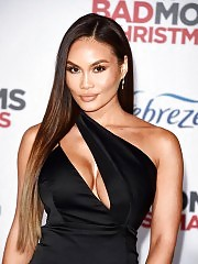 Daphne Joy (50 Cent's Ex) Flashes Tits & Ass In Black Dres...