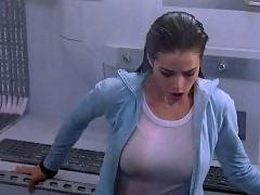 Denise Richards See Through Nipples in 'The World Is Not E...