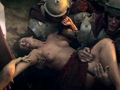 Erin Cummings Nude Scene In Spartacus Blood And Sand Series