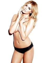 Kate Upton Almost Nude Topless Pics