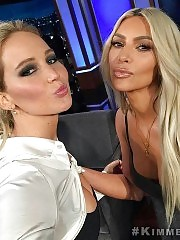Jennifer Lawrence (Guest Host) Interviews Kim Kardashian Wes...