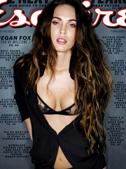 Megan Fox gets sexy for esquire magazine