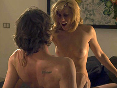 Sally Golan naked during hot sex scene