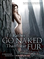 Actress Christian Serratos Goes Completely Nude For PETA