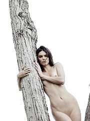 Kendall Jenner Naked For 'Angels' By Russell James