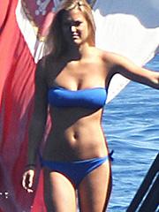 Bar Refaeli hot ass and big tits in a bikini
