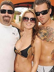 Audrina Patridge looking awesome in sexy bikini