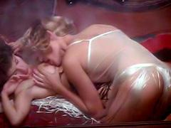 Brigitte Lahaie nude in nice lesbian scene