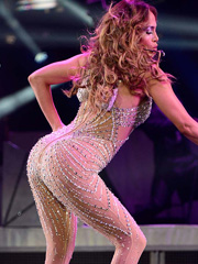 Jennifer Lopez and her big beautiful booty
