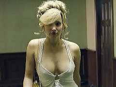 Jennifer Lawrence And Amy Adams Erect Nipples In American Hu...