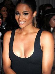 Ciara oops nipple slip and busty cleavage