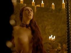 Carice Van Houten Nude Sex Scene In Game Of Thrones Series