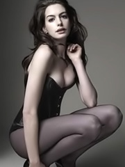 Anne Hathaway strips down for magazine