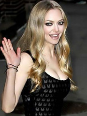 Amanda Seyfried finally drops some cleavage