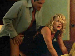 Ali Larter having hot doggy style sex