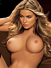 Carmen Electra huge big nude boobs