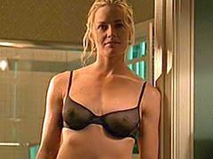 Elisabeth Shue big boobs in see thru bra