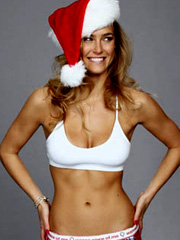 Bar Refaeli gets very sexy for the holidays